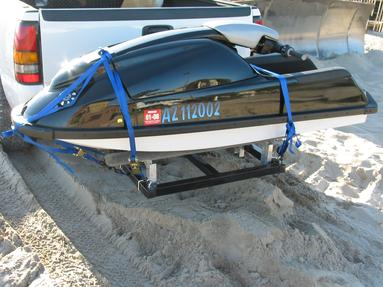 RECEIVER HITCH PWC CARRIER